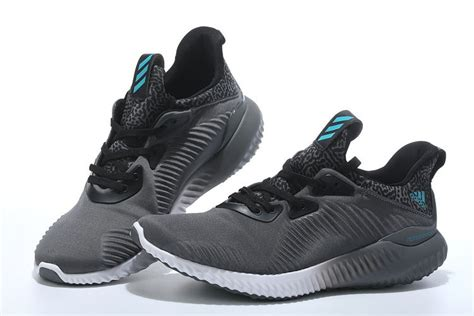 Alphabounce Black Grey Adidas Alphabounce Shoes Mens Grey Black White Sell
