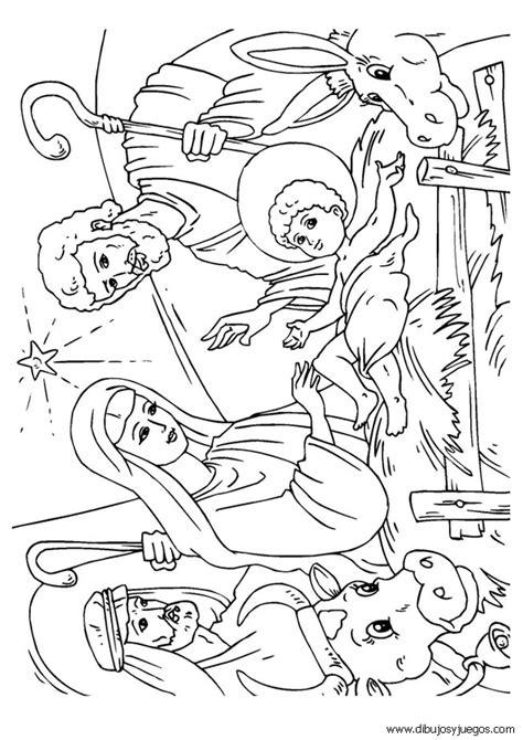 imagenes pesebres navideños para colorear maria dibujos de mar 205 a en el pesebre