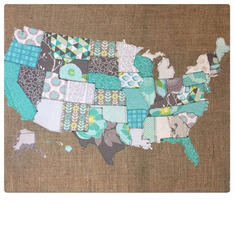 us map fabric fabric map united states map fabric scrap map