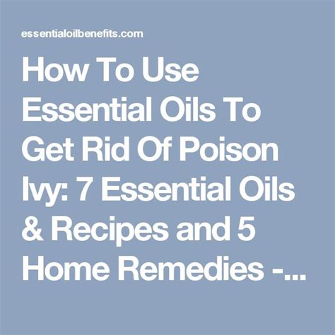 top 28 how to get rid of poison how to get rid of