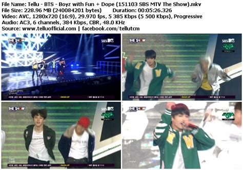 download mp3 bts boyz with fun download perf bts boyz with fun dope sbs mtv the