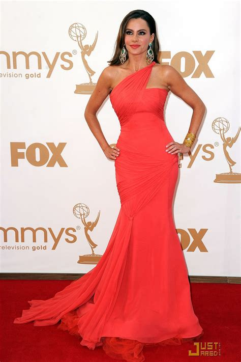 Ruby Dress Ori By Shofiya by Sofia Vergara Carpet Dress In Emmys Chiffon One