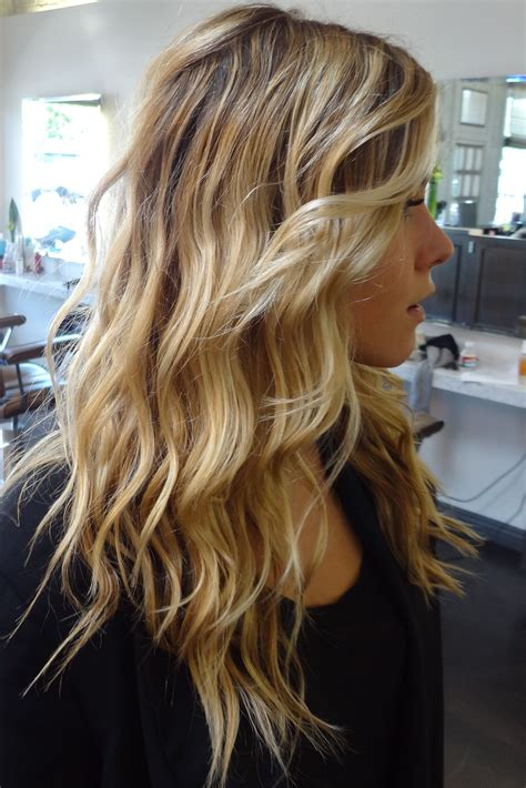 highlights for blonde hair beach blonde before after neil george