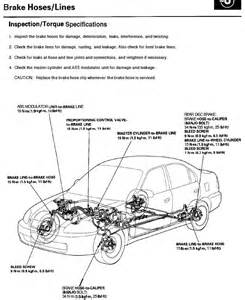 Honda Civic Brake System Diagram How Replace Fuel And Brake Lines Myself Clubcivic