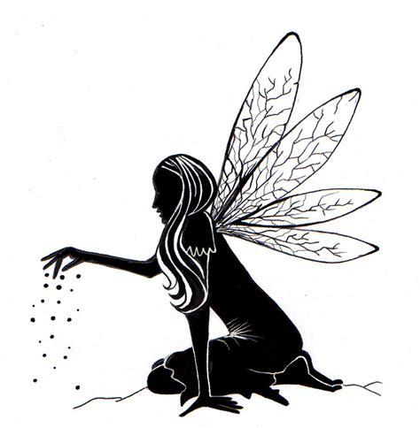 fairy dust silhouette lavinia stamps ltd