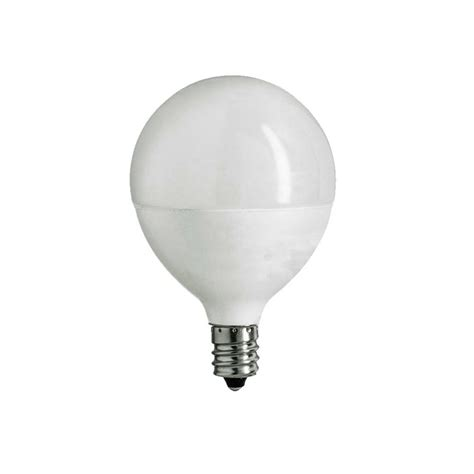 e12 led light bulb ecosmart 60w equivalent daylight g16 5 e12 dimmable