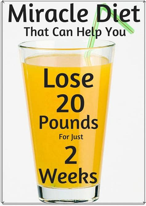 Juice Based Detox Diet Lose 20 Pounds by Miracle Diet That Can Help You Lose 20 Pounds For Just 2