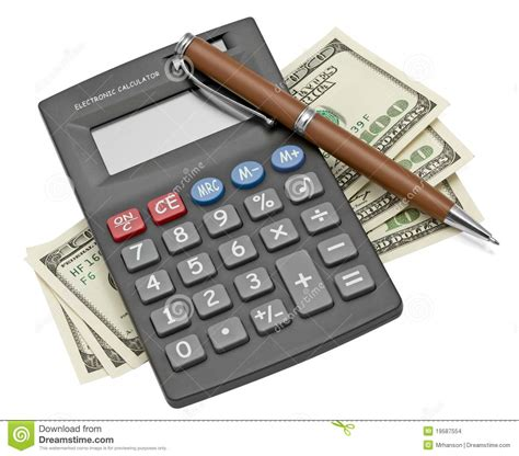 section id calculator calculator and money stock images image 19587554