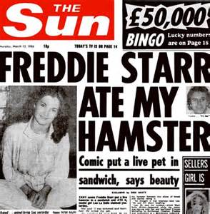 my ate the sun freddie ate my hamster slouching towards thatcham