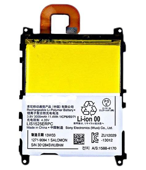 Baterai Battery Sony Xperia Z1 L39h C6903 Vizz Dobel Power 4000mah 1 gng mobile battery l39h for sony xperia z1 c6902 c6903 c6906 c6943 batteries at low