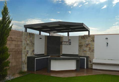 area de asador jardines de estilo por daniel teyechea arquitectura construccion homify
