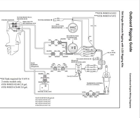 yamaha outboard ignition switch wiring diagram yamaha