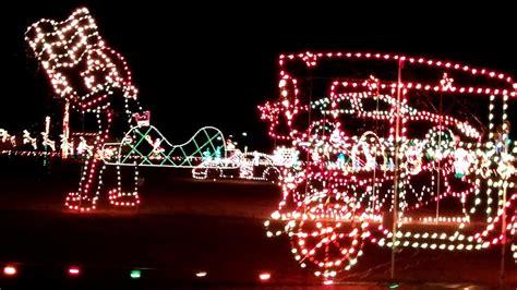 benson christmas light display nc meadow lights benson nc 12 04 17