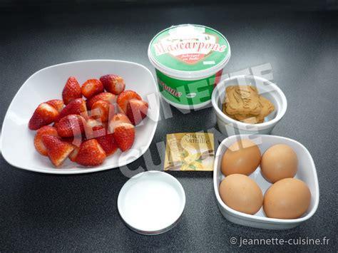 jeannette cuisine tiramisu 224 la fraise et sp 233 culoos 171 dessert 171 jeannette