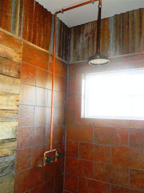 exposed bathroom plumbing exposed shower plumbing bathroom traditional with cabin