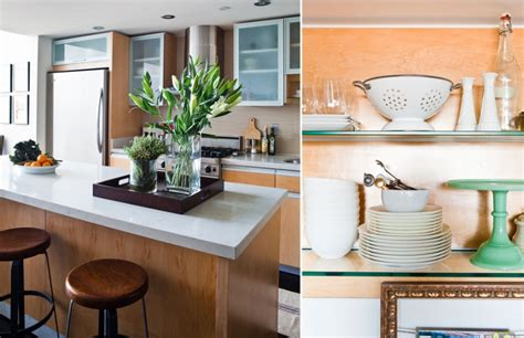 Kitchen Countertop Styles by How To Style Kitchen Countertops The Everygirl