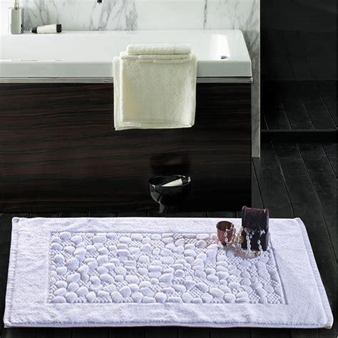 Quality Bath Mats Aliexpress Buy High Quality Hotel 100 Cotton Bath Mats Bathroom Rug Horizontal Rug Non