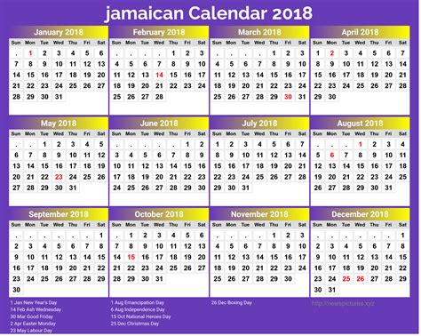 new year calendar 2018 2018 calendar jamaica happy new year 2018 pictures