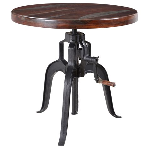 adjustable dining table desk by coast to coast imports coast to coast imports liverpool 93408 adjustable bistro