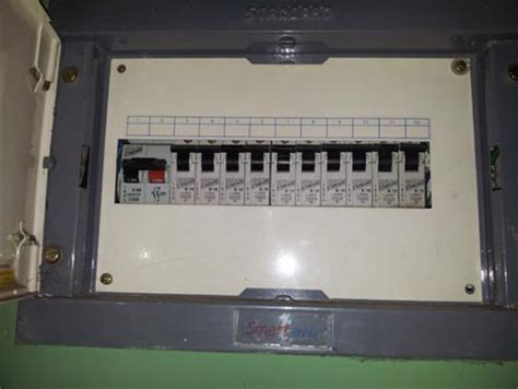 electrical panel subpanels and circuit breakers in