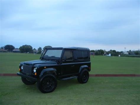 1997 land rover defender interior purchase used 1997 land rover defender 90 autosport black