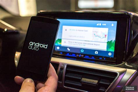 android auto android auto tous les constructeurs ne sont pas log 233 s 224 la m 234 me enseigne frandroid