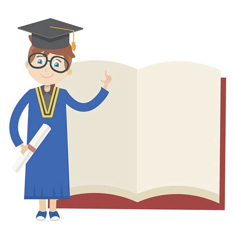 clipart laurea free illustration graduation book education free