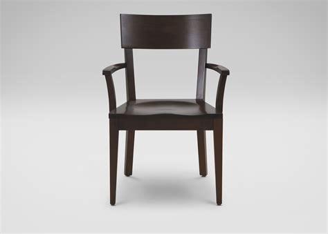 Ethan Allen Armchair by Finley Wood Seat Armchair Ethan Allen