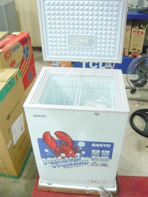 Chest Freezer Sanyo sanyo 4 cuft chest freezer cebu appliance center