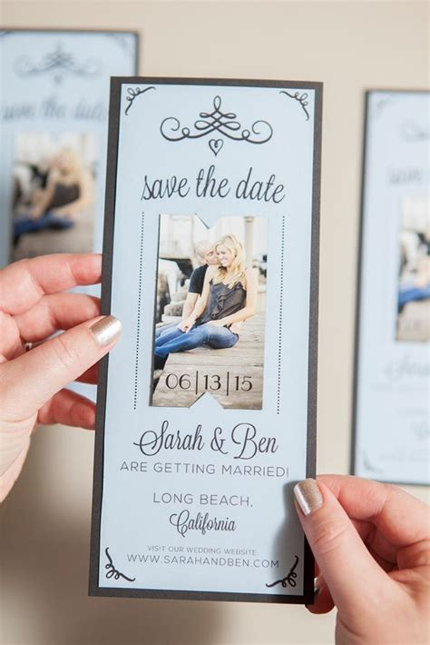 cute sample make your own save the date postcards complete