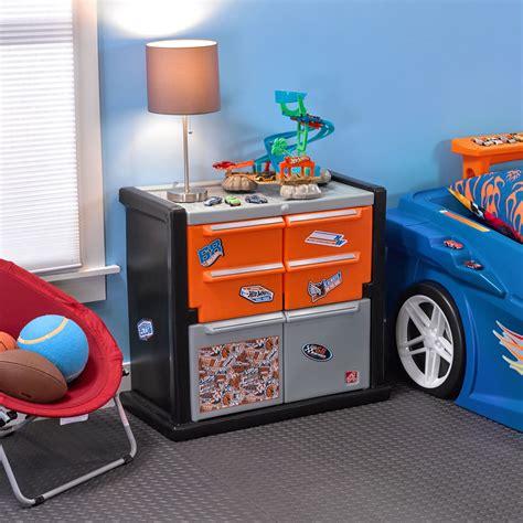 hot wheels bedroom hot wheels race car dresser kids storage step2