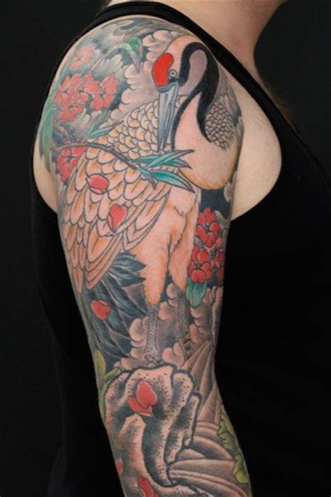tattoo london kensington crane tattoo by nikole lowe tatuajes pinterest