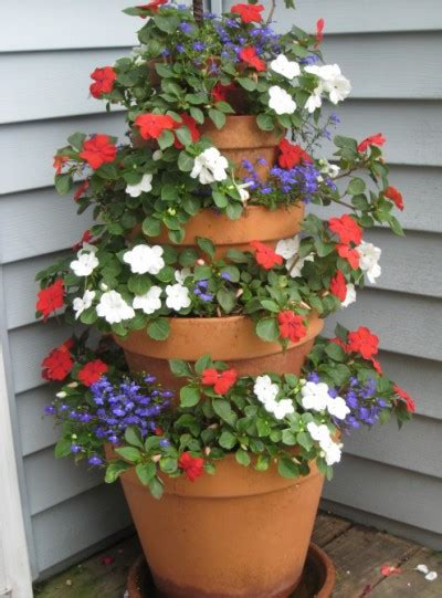 diy patio project create a cascade of flowers mjn and