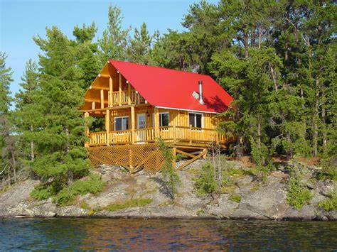 Cottages With Fishing by Cabin 4 At Island 10 Northern Ontario Fishing Lodge On