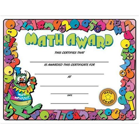 math certificate template wikiwayne10 reinforcing effort and providing recognition
