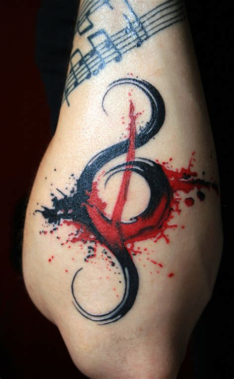 tattoo design musical notes 55 love for music tattoo designs entertainmentmesh
