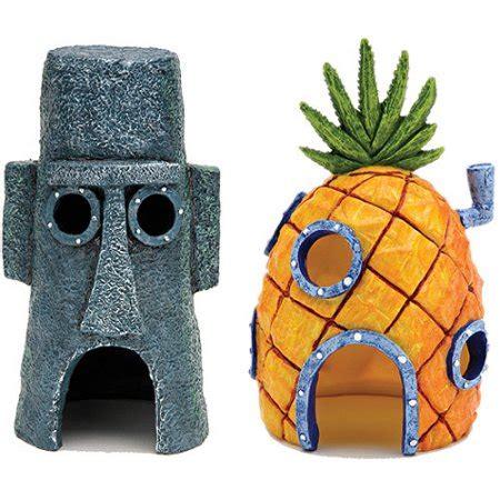 casa spongebob casa abacaxi bob esponja penn plax acaradiscus