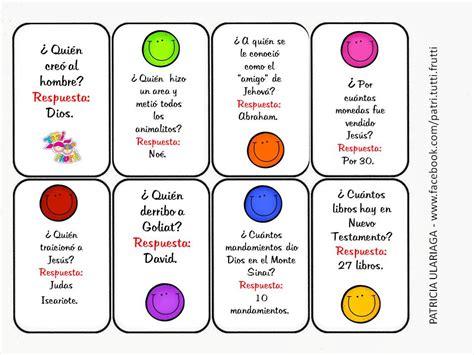 preguntas de la biblia y su respuesta tutti frutti mes de la biblia quot juego de preguntas para