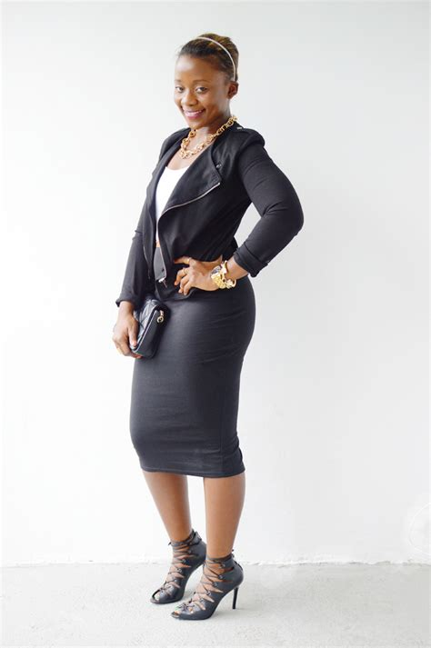 going out with pencil skirt