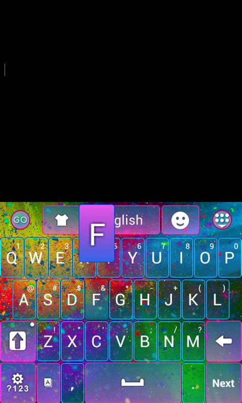 color keyboard themes blackberry color storm keyboard theme free android theme download