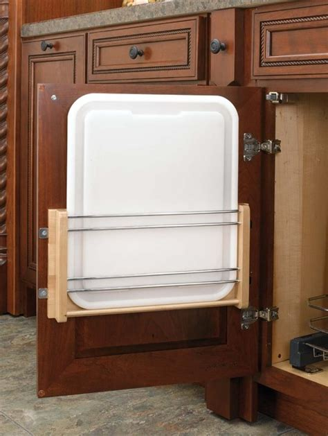 houston knife store wood classics door mount rack with cutting board