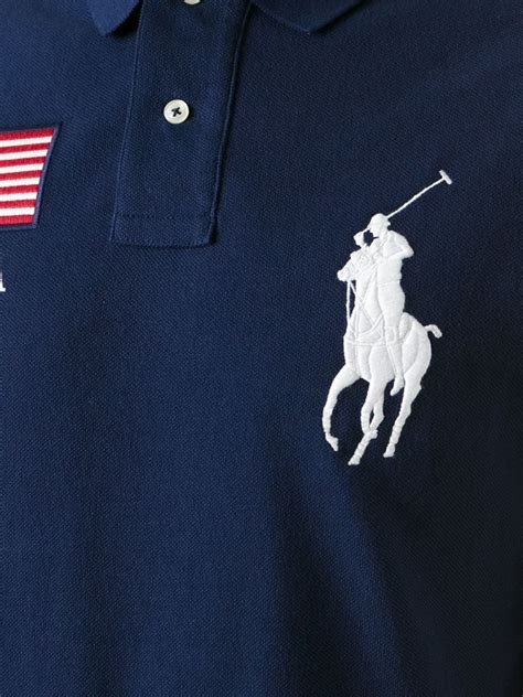 embroidery design ralph lauren polo ralph lauren logo patch embroidery polo shirt in blue