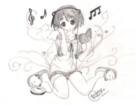 imagenes de anime i love you love music anime dibujo speed youtube