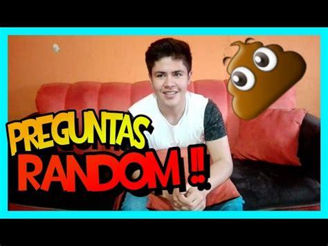 preguntas random preguntas random 1 dilan valenzuela youtube