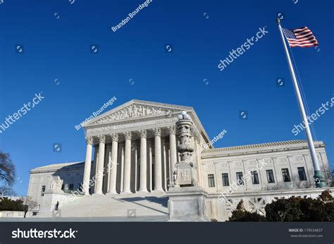 Dc Court Search Supreme Court Building In Washington Dc Stock Photo