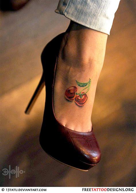 cherry tattoo designs  hidden meaning