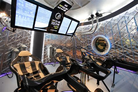 Spacecraft Interior by Enter The Look Inside Spacex S New Crew