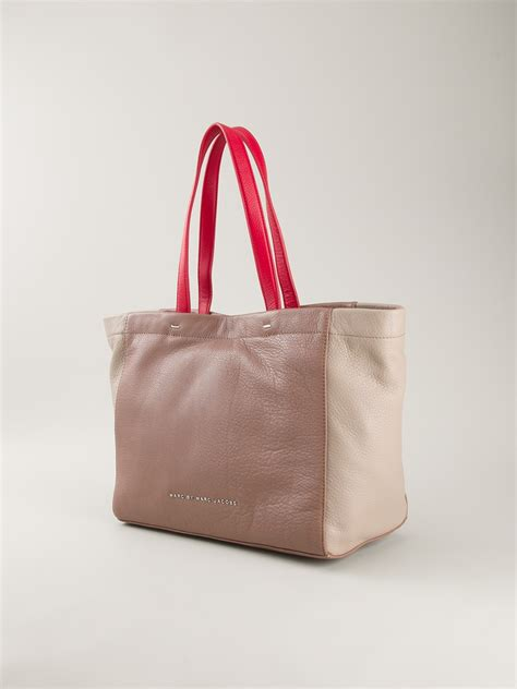 Whats In Your Bag Ezlins Dkny by Marc By Marc Whats The T Tote Bag In Pink Pink