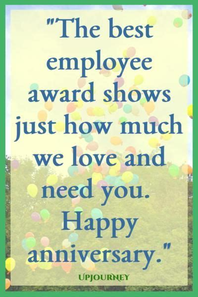 50 [HAPPY] Work Anniversary Quotes   Positive