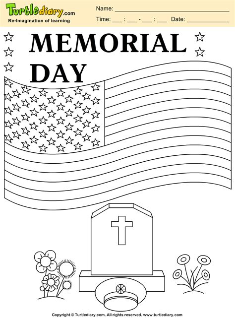 memorial day coloring pages memorial day free coloring pages